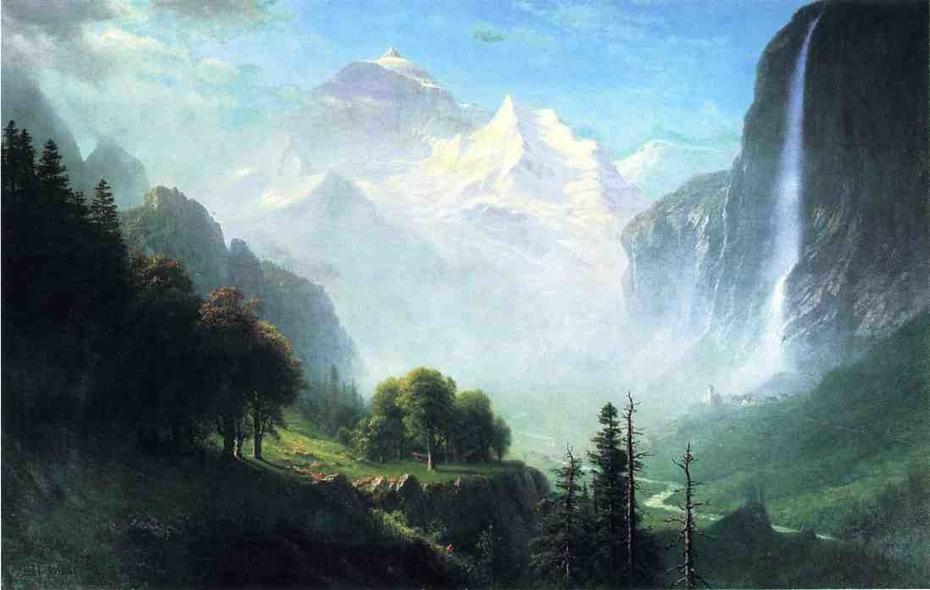 Staubbach Falls, Near Lauterbrunnen, Switzerland
