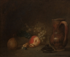 Still life with an earthenware jar