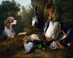 Still Life with Dog and Game