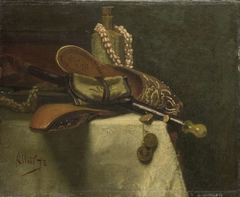 Still Life with Oriental Slippers