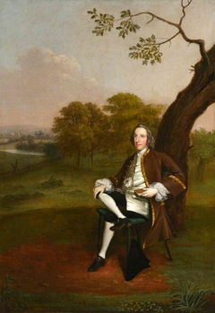 Supposedly Sir James Burrow, FRS, FSA (1701-1782)