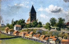 Telthusbakken with Gamle Aker Church