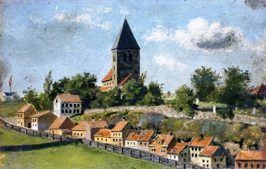 Telthusbakken with Gamle Aker Church
