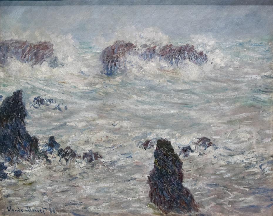 Tempête, côtes de Belle-Ile