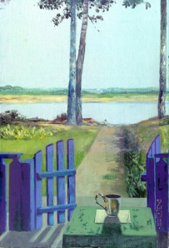 The alley from Ostrov