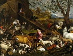 The Animals entering Noah's Ark