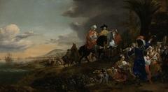 The Dutch Ambassador on his Way to Isfahan