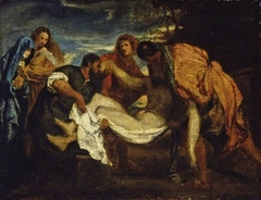 The Entombment, after Titian