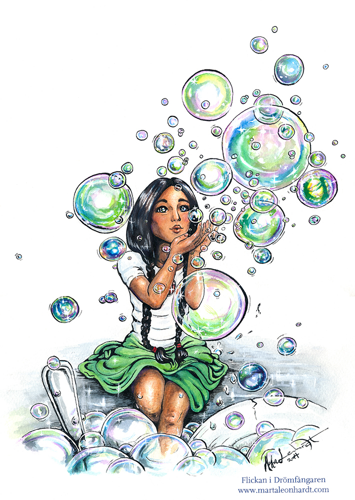 The Girl in the Dreamcatcher - Bubbles