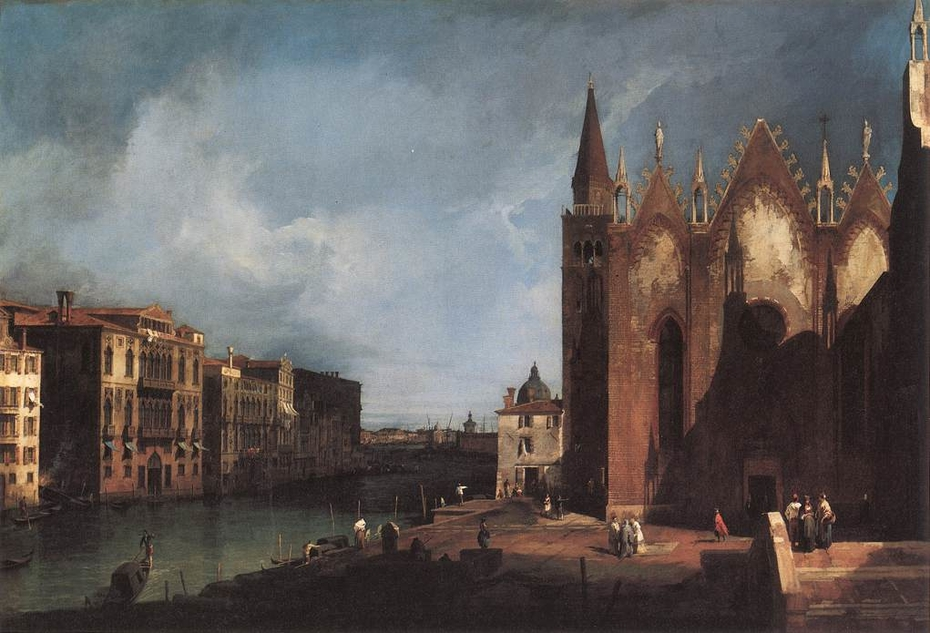 The Grand Canal from Santa Maria della Carità to the Bacino di San Marco