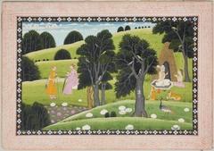 The Guru Discourses While Noblemen Wait
