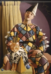 THE HARLEQUIN'S CAT (detail)