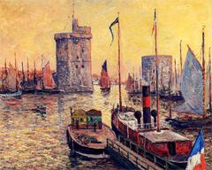 The Port of La Rochelle at Twilight