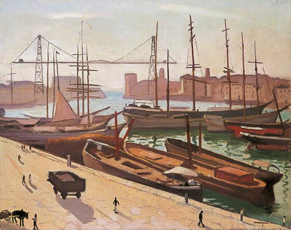 The Port of Marseille, 1916