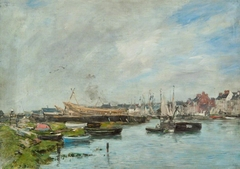 The Port of Trouville, Boatyard