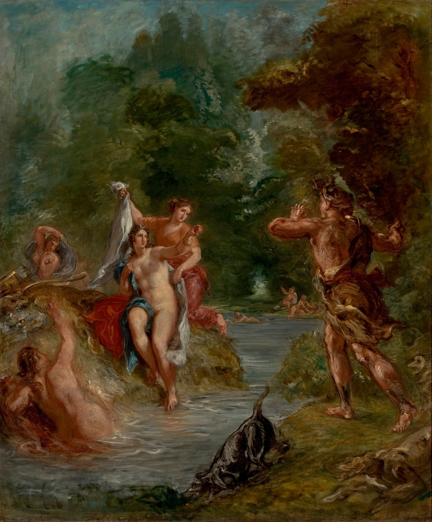 The Summer - Diana surprised by Actaeon
