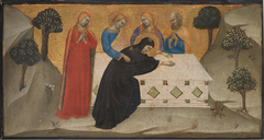 The Virgin Swooning and the Three Maries at the Tomb of Christ