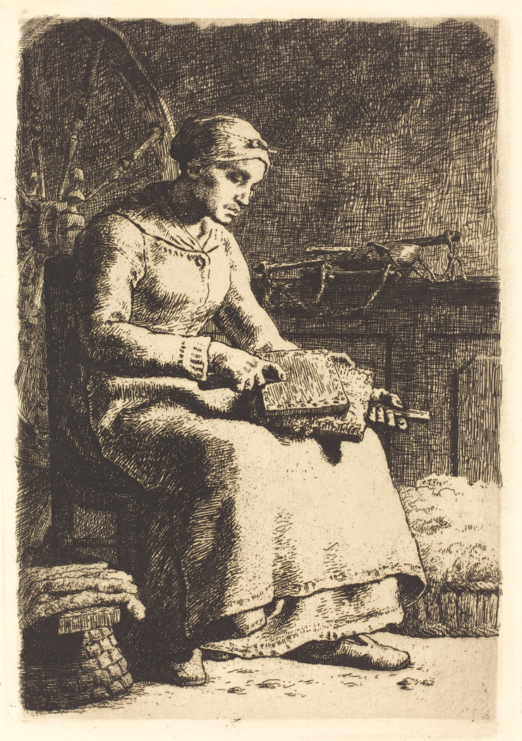 The Wool Carder (La cardeuse)