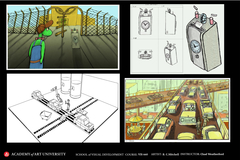 thesis environments presentation board