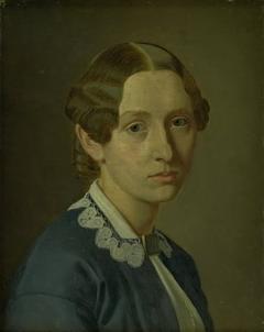 Thomasine Ludvigne Vermehren, f. Grüner, kunstnerens hustru