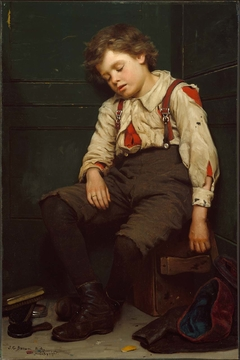 Tuckered Out —The Shoeshine Boy