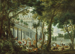 Ulysses at the Palace of Circe