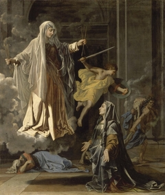 Saint Frances Announcing the End of the Plague in Rome
