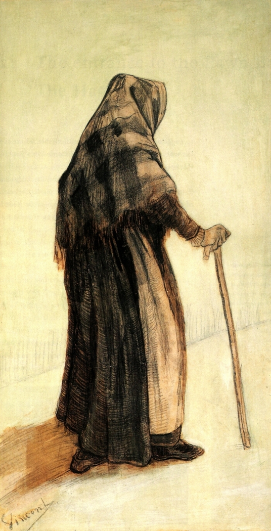 Old Woman Seen from Behind