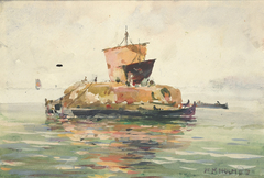 Venetian Freight Boats