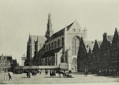 View of Haarlem Bavo Church