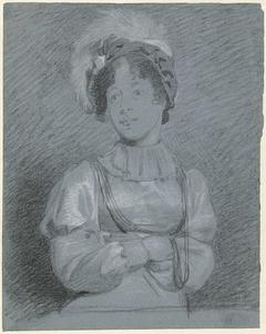 Voorstudie voor het portret van Frederica Louise Wilhelmina van Oranje-Nassau