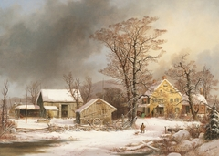 Winter in the Country: A Cold Morning