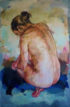 Woman Crouching