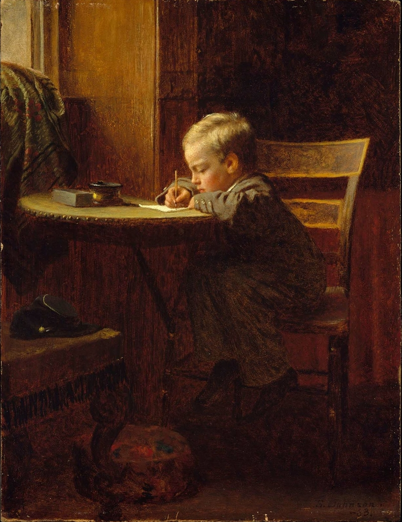 Writing to Father