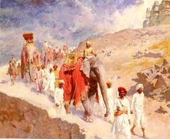 A Maratha Hunting Party
