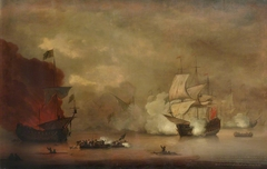 Action between HMS Mary Rose and seven Algerines, 8 December 1669