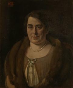 Adèle van Meekren, de tweede echtgenote van Andries van Wezel