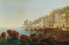 An der Mergellina bei Neapel