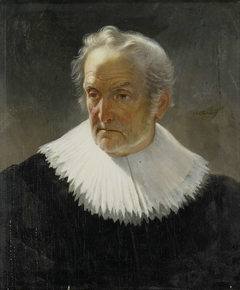 An old Man in 17th-century Dress