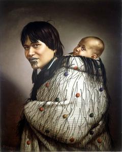 Ana Rupene and child