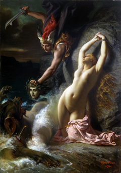 Andromeda Chained to a Rock