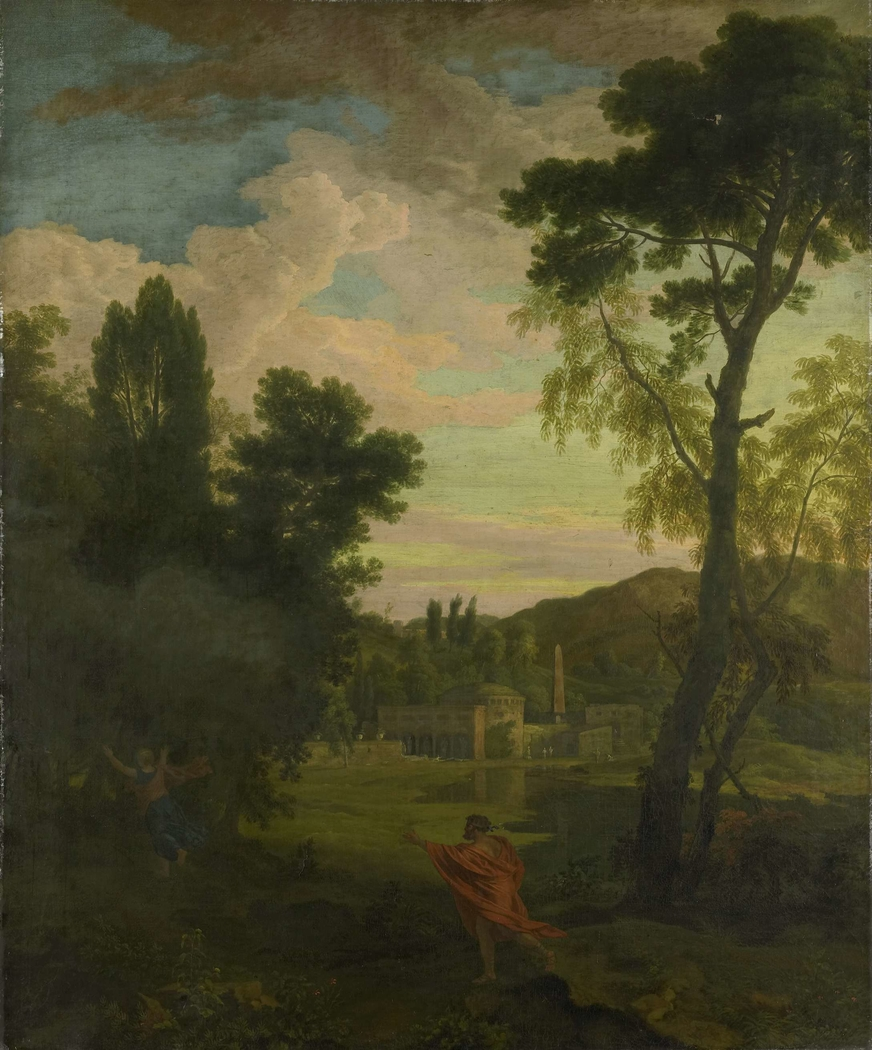 Arcadian Landscape with Jupiter and Io