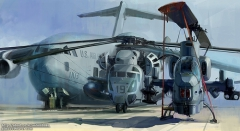 aviation painting