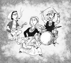 band illustration