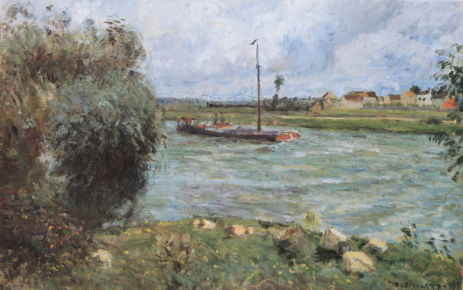 Banks of the Oise, the Countryside near Pontoise