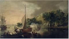 Boats on the River Lee below Tivoli, County Cork