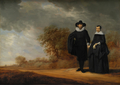 Burgomaster Cornelis Damasz. van der Gracht and his Wife, Jopken Jacobs, in a Landscape