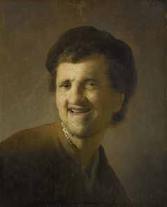 Bust of a Laughing Young Man