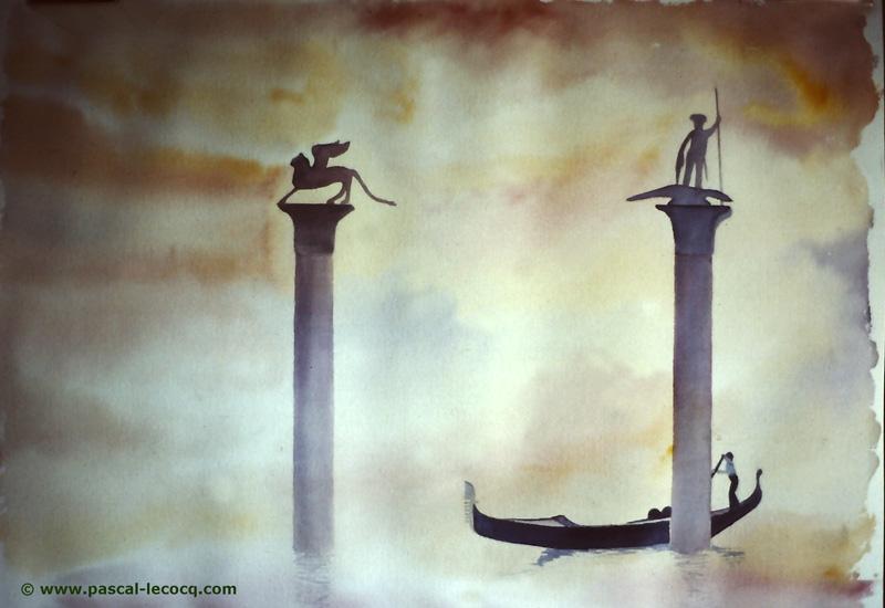 C'E L'AQUA ALTA - It's high tide-  by Pascal