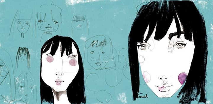 Caras, caras y más caras / Faces, faces and more faces